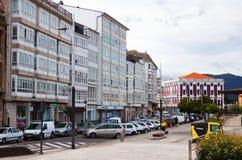 Dwelling houses at  Viveiro. Galicia, Spain Stock Photo