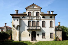 Dwelling in the park of Villa Pisani, Italy, Stra Royalty Free Stock Image
