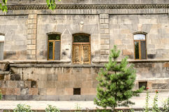 Dwelling for the priests of the Church of St.Gayane in Echmiadzin. Old stone dwelling for the priests of the Church of St.Gayane in Echmiadzin royalty free stock photos