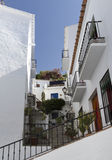 Dwelling in Salobrena, Andalusia, Spain Stock Image