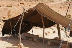 Dwelling Tuareg. In the desert Royalty Free Stock Photography