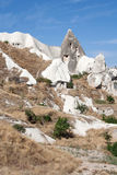 Dwellings in Cappadocia Royalty Free Stock Images