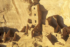 Dwellings at Mesa Verde National Park, Colorado Stock Images