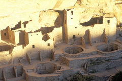 Dwellings at Mesa Verde National Park, Colorado Royalty Free Stock Photos