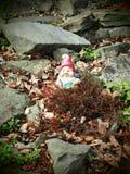 Dwerg in de tuin Royalty-vrije Stock Foto's