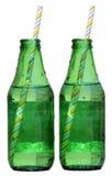 dwie butelki Obraz Royalty Free