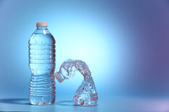 dwie butelki wody Fotografia Royalty Free