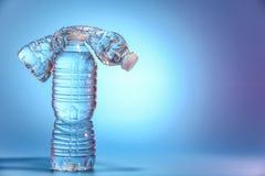 dwie butelki wody Obrazy Stock
