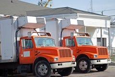 dwie ciężarówki Obraz Royalty Free
