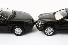 dwie czarne auta Obrazy Royalty Free