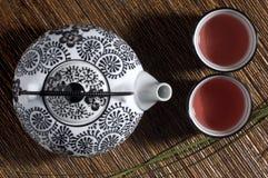 dwie filiżanki herbaty Zdjęcie Royalty Free