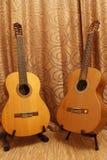 dwie gitary Zdjęcia Stock