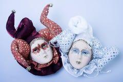 dwie maski Obrazy Royalty Free