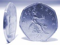 dwie monety. obrazy royalty free