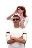 dwie osoby zdjęcia stock