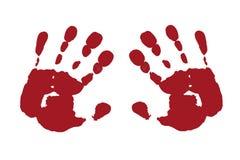 dwie ręce Zdjęcie Royalty Free