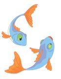 dwie ryby Obraz Royalty Free