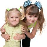 dwie siostry Fotografia Stock