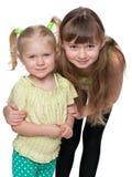 dwie siostry obrazy royalty free