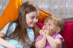 dwie siostry zdjęcie royalty free