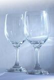 dwie szklanki Zdjęcia Stock