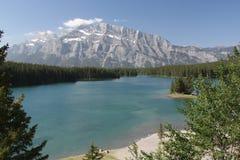 dźwigarki jezioro dwa Zdjęcia Stock