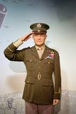 Dwight D. Eisenhower Wax Figure. Dwight David Ike Eisenhower was the 34th President of the United States from 1953 until 1961. Dwight D. Eisenhower wax figure is Stock Photo