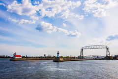 Dźwignięcie most Zdjęcia Stock