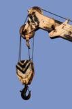 Dźwigowy haczyk Zdjęcie Royalty Free