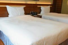 Dwoiści łóżka Zdjęcie Royalty Free