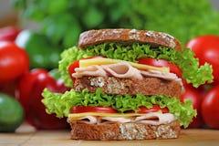 dwoista kanapka Obrazy Stock