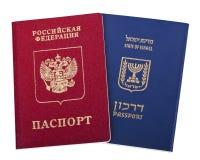 Dwoista narodowość - rosjanin & izraelita Obraz Royalty Free