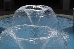 Dwoista wodna fontanna Obraz Stock