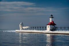 Dwoiste latarnie morskie Obraz Royalty Free