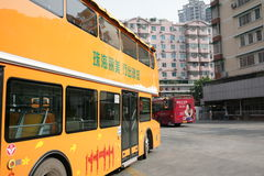 Dwoistego decker autobus Zdjęcia Stock