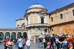 dwoistego helix Italy muzealny Rome schody Vatican Obraz Stock