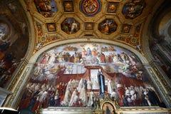 dwoistego helix Italy muzealny Rome schody Vatican Zdjęcie Stock