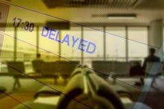 Dwoistego ujawnienia abstrakt opóźniający lot fotografia royalty free