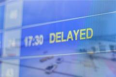 Dwoistego ujawnienia abstrakt opóźniający lot zdjęcie stock