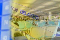 Dwoistego ujawnienia abstrakt opóźniający lot obrazy stock