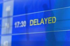 Dwoistego ujawnienia abstrakt opóźniający lot fotografia stock