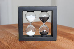 Dwoisty hourglass Zdjęcie Stock