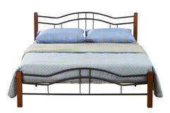 Dwoisty łóżko Fotografia Royalty Free