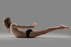 Dwoisty nóg kopnięć ćwiczenie zdjęcie royalty free