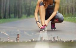 Dwoisty ujawnienie sport zdrowa istota ludzka Zdjęcia Stock