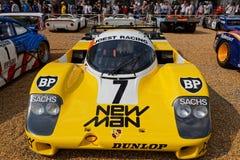 Dwoisty zwycięzca Le Mans 24hours Porsche Obrazy Royalty Free