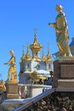 Dworski kościół Święci apostołowie i sculptu Peter i Paul Zdjęcie Stock