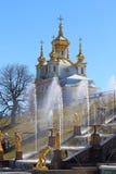 Dworski kościół Święci apostołowie Peter i Paul wiosna Pogodny da Fotografia Royalty Free