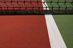 dworski zamknięty dworski tenis Zdjęcia Stock