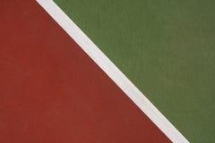 dworski zamknięty dworski tenis Fotografia Stock